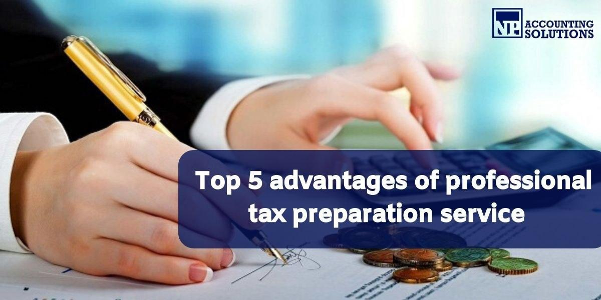 professional tax preparation service